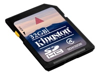 32GB Kingston SDHC CL.4 Kort