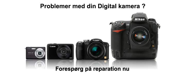 digital camera reparations tilbud