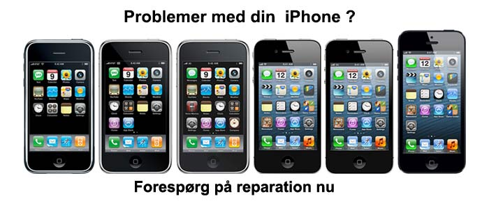 iPhone reparations tilbud pcworkshop