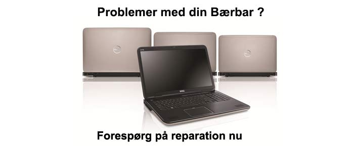 notebook reparations tilbud