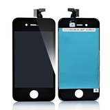 iPhone 4S komplet GLAS/LCD - (Sort)